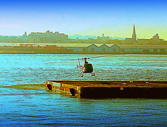 East River, Copter Takes Off (dimaruss34) Tags: newyork brooklyn image manhattan eastriver dmitriyfomenko fall12012