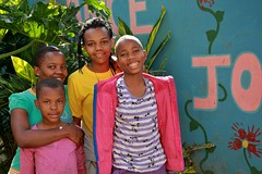 Rose, Connie, Marie en Neema