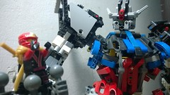 LEGO Strike Gundam (demon14082001) Tags: mobile robot lego seed hobby suit strike gundam mecha moc gatx105