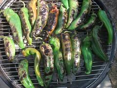 Hatch Green Chile (randyman) Tags: chiles roasting hatchnewmexico greenchile hatchgreenchile