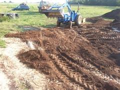 Terraforming Sagan Spring (NerdAcres) Tags: spring construction sagan earthwork 2015 terraforming