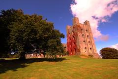 Penryhn Castle ~ Bangor (DonCarlosRutter29) Tags: uk blue castle wales skies national trust