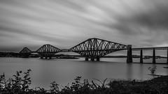 Edinburgh   |   Forth Bridge (JB_1984) Tags: forthbridge bridge cantilever railway railbridge firthofforth water longexposure neutraldensityfilter ndfilter blackandwhite bw mono movement motion blur queensferry edinburgh scotland uk unitedkingdom nikon d7100 nikond7100 explore explored