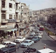 بنك الاردن شارع فيصل وسط البلد سنة 1969 (صور الأردن) Tags: amman وسط عمان البلد فيصل ساحة الملك الاردن