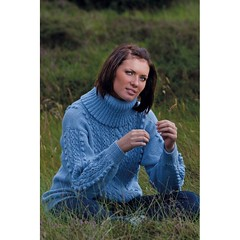 Womens light blue turtleneck casual sweater (Mytwist) Tags: classic wool fashion fetish cozy sweater fisherman pattern fuzzy weekend handknit craft style collection yarn passion jumper casual turtleneck lovely pullover handcraft bulky handknitted tneck rollneck rollkragen webfound handgestrickt flator 100910 weekendsweater mytwist damtroja
