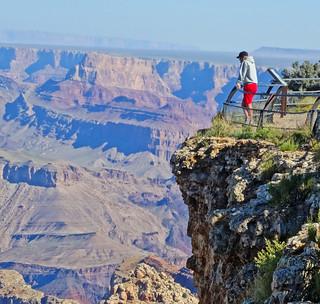 Pondering, Grand Canyon 9-15
