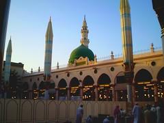 masjid nabawi 2008 (brooklynyte4ever) Tags: islam umrah hajj madinah greendome prophetmuhammad masjidnabawi