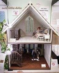 Dollhouse displayed in Azone! :) (cute-little-dolls) Tags: miniature mine display furniture dream kawaii dollhouse silentauction aoto yuta azone petworks pureneemo excute azonedoll ruruko