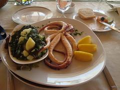 Plavnica Eco Resort, Montenegro, Skadar Lake (ForceMajeureMontenegro) Tags: food lake lago potato octopus montenegro restoran jezero mangold karada skadarsko skadar plavnica