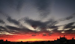 Glyfada_Day_leaves_clouds_red! (spicros78) Tags: sunset night clouds purple canon5dclassic