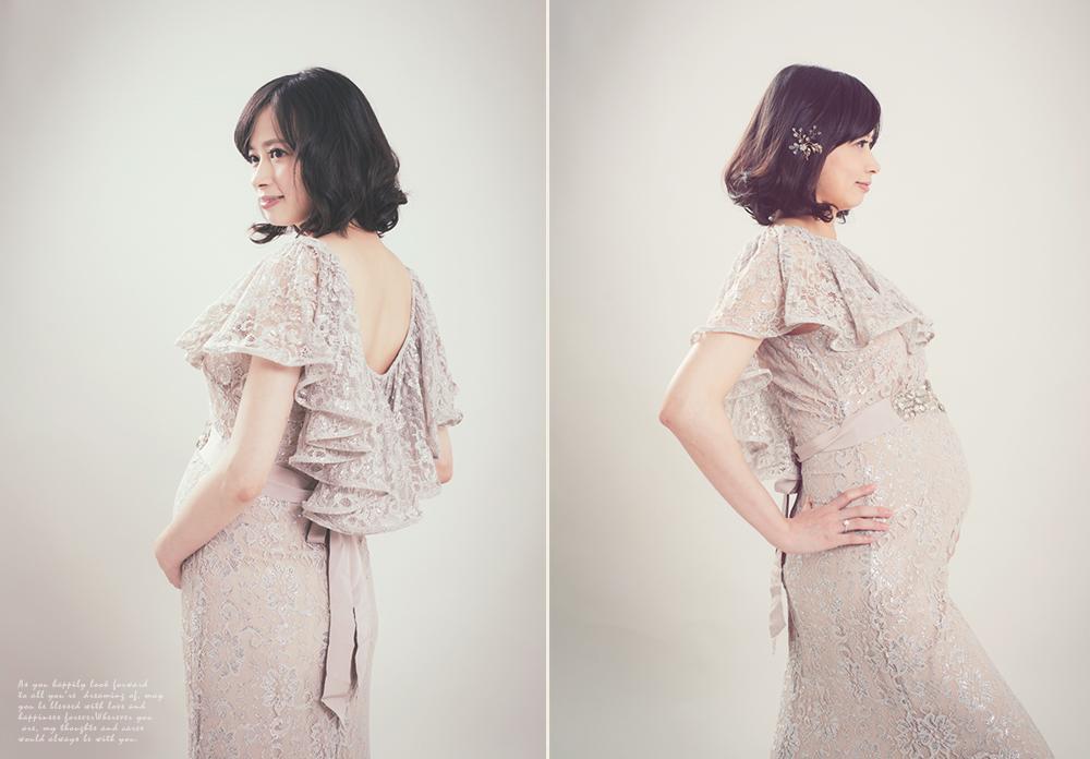 孕婦禮服攝影Chauntel Bridal