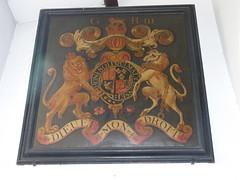 Royal arms. George III (Granpic) Tags: northamptonshire heraldic royalarms ecton northamptonshirechurch ectonchurch stmarymagdaleneecton