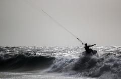 Kite (Looka92) Tags: ocean kite water sport fuerteventura kitesurf lapared
