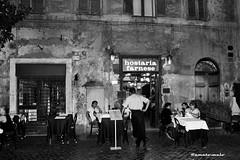 Roma - Piazza Farnese - luglio 2015