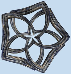 Torus /  (TANAKA Juuyoh ()) Tags: torus      mathematica 3d cg parametricplot3d texture code program algorithm abstruct graphic design pattern structure mapping figure                     symmetry
