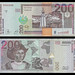 (SVC7zb) 1999 El Salvador, Banco Central de Reserva de El Salvador, Doscientos Colones, (A/R)..