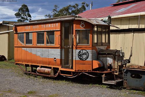 Railmotor at Ida Bay