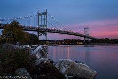 The Robert F. Kennedy Bridge (formerly the Triborough Bridge (jkc916) Tags: newyorkcity bridge triborobridge triboroughbridge robertfkennedybridge jordanconfino jordanconfinophotography jkc916
