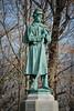 Union Soldier (beachtime12) Tags: statue sculpture monument williamscollege massachusetts civalwar trees