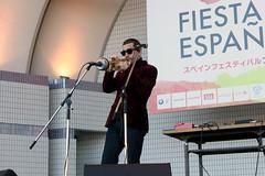 Fiesta de Espaa 2015 /  (Instituto Cervantes de Tokio) Tags: people espaa festival stand fiesta escenario feria yoyogi espaol institutocervantes       estand