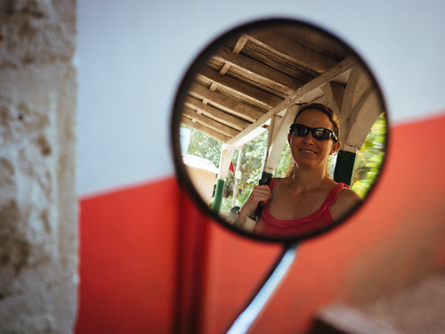 looking in the mirror, From FlickrPhotos