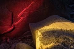 red flash (tb_fotografien) Tags: switzerland stones swiss flash illuminated valley maggia