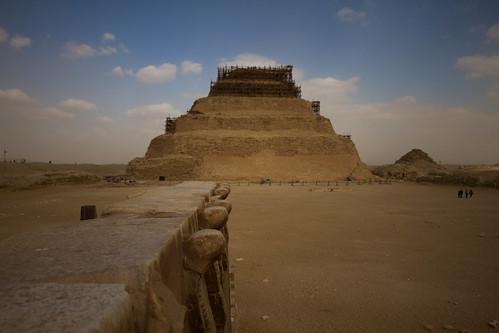 Cobras and stepped pyramid