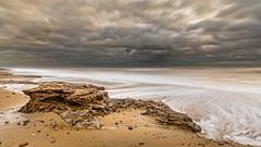 Covehithe, Suffolk (framboise_sjb) Tags: longexposure sea sky seascape zeiss landscape coast suffolk sand erosion northsea seaview eastanglia 2015 landscapephotography moodysky covehithe suffolkcoast zeissdistagon zeissdistagon18mm benacrebroad zeissdistagont3518ze zeissdistagon3518mm