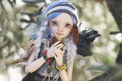 Farah loves almonds (AniredaDolls) Tags: farah minifee sarang event head fairyland fairy faceup face fantasy mnf msd mueca moe mline muecas amazing normal angeltoast bjd cute doll dolls girl korea limited lovely love forest almond