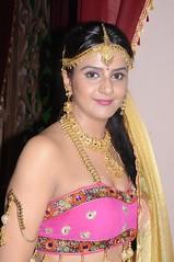 South Actress CHARULATHA Hot Photos Set-2- at Sri Ramanujar film shooting (20)