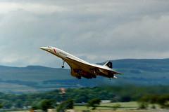 B9214E G-BOAE Concorde (fergusabraham) Tags: gboae concorde ba gla britishairways glasgowinternational