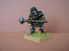 Classic Citadel skeleton miniature (Entslow) Tags: oldhammer wargames wargaming warhammer gamesworkshop citadel skeleton undead