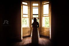 Bride 1 (Javier A. Rodrguez) Tags: novia bride wedding boda ramo flores flowers window ventana dress vestido light luz contraluz