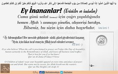 Happy Fridays (Oku Rabbinin Adiyla) Tags: allah kuran islam pray namaz ibadet dua cami ayet verse verses god religion islamic