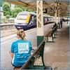 Cyan slogan (Nodding Pig) Tags: bath spa railway station train england greatbritain uk 2016 unicef class43 dieselelectric locomotive 43031 mtu hst highspeedtrain greatwesternrailway gwr 201608133781101crop bathnortheastsomerset uniceforguk