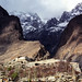 Village and mountains, Karimabad, Pakistan パキスタン、カリマバードの集落と山々
