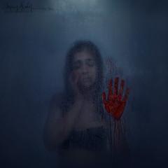 Silenced (SleepingAwakePhoto) Tags: silenced blood conceptual darkart fineart photography conceptualphotography abuse