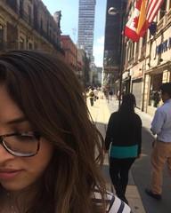 my love (Miguel bfm) Tags: novia girlfriend mexican mxico cdmx 2016 torre latinoamericana mexicana canada eua bandera flag sunset atardecer