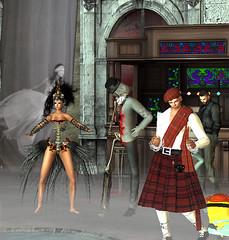 Jesie's Halloween Party 3 (hunnibear86) Tags: halloween costume secondlife sl demon wolf lycan