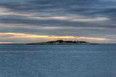 Island Altije - Porec (Dino Barsic) Tags: island sky sunset clouds sea pore croatia colorful europe balkan seaside nature outdoors skyline landscape horizon vivid serene calm blue day outdoor