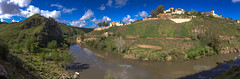 The nature trail of Ronda de Toledo. (hippoking) Tags: chui spain toledo city destination panorama travel