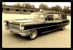1964 Cadillac Hearse/Ambulance (PhotoJester40) Tags: outdoors outside car ambulance hearse 1964 cadillac automobile