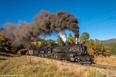 Putting a cap on great charter (kdmadore) Tags: drgw denverriograndewestern durangosilverton dsng durango silverton steamlocomotive steamengine railroad train narrowgauge