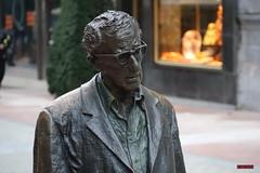 Woody Allen ( Oviedo) (Jose Luis RDS) Tags: sony rx rx10 escapadas asturias woodyallen oviedo escultura