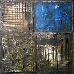 """""""Untitled (N° 49)"""", mixed media by Cezary Gapik (CEZ-ART) Tags: cezarygapik abstract mixedmedia relief texture art"""