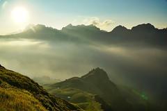 Auenland (phozuppel) Tags: berge sonne nebel allgu rappenseehtte wandern sonnenuntergang goldenestunde goldenhour oberstdorf bayern sony alpha6000 herbst autumn