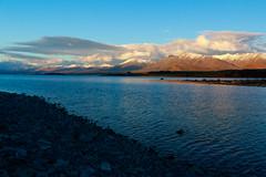 Sunset at Tekapo (Andrs Guerrero) Tags: canterbury lagotekapo newzealand nuevazelanda oceana tekapo tekapolake laketekapo nz sunset atardecer airelibre mackenzie
