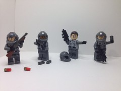 Recon Team Alpha-12 (Grimgorr) Tags: brickarms crazy arms lego scifi