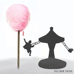 Le dernier fruit (Philmon Shivar) Tags: imagination illlustration enfants manges rve conte cration
