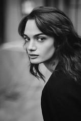 marituna (Chalo Photography) Tags: female woman girl young beauty beautiful portrait blacksnadwhite monochrome model